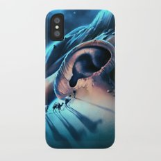 I want to talk to you iPhone X Slim Case