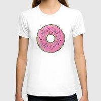 doughnut T-shirts featuring Doughnut by Sara Eshak