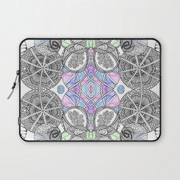 Multi Zentangle Zendoodle Zenart Design Laptop Sleeve