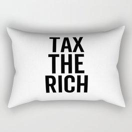 Tax The Rich Rectangular Pillow
