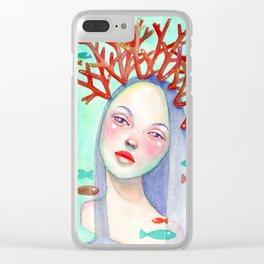 Coralie Clear iPhone Case