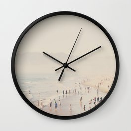 standing on the top of the world ... Wall Clock