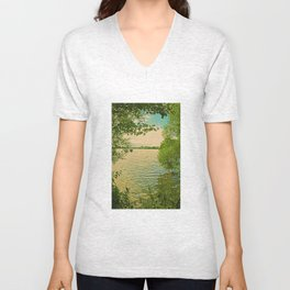 Mecklenburg Vorpommern, a place at thousends of Seas Unisex V-Neck