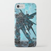 gundam iPhone & iPod Cases featuring Gundam Art Ba6ix  by Serg Leo  Ba6ix