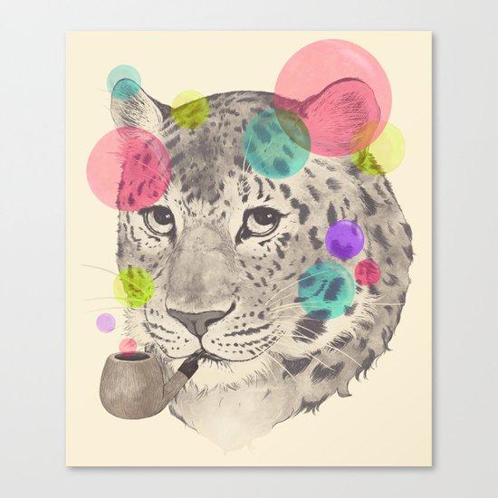 leopard changes his spots Canvas Print