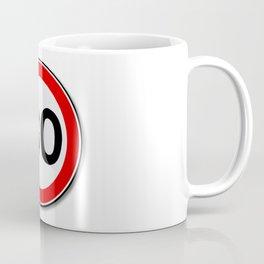 30 MPH Limit Traffic Sign Coffee Mug