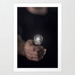 Idea Man Art Print