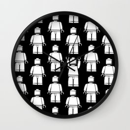 LEGO Who's The Man Wall Clock