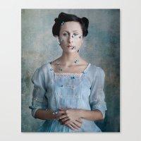 valentina Canvas Prints featuring Valentina by Maria Kanevskaya