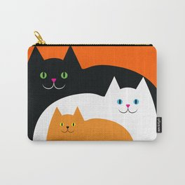 Halloween Cat Family Carry-All Pouch