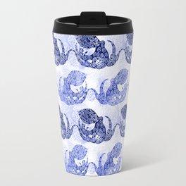 Mythic Octopus - Indigo Travel Mug