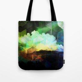 Wetterleuchten Tote Bag