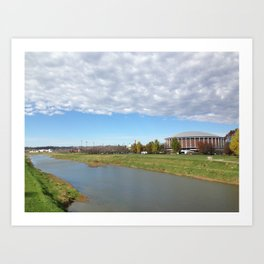 The Convocation Center  Art Print