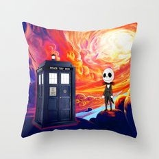 Jack Skellington Journey Throw Pillow