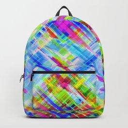 Colorful digital art splashing G468 Backpack
