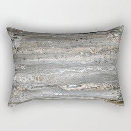 Wood Series 1 - Aged Birch Rectangular Pillow