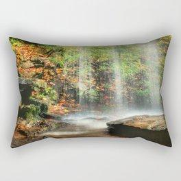 Falling Softly Rectangular Pillow
