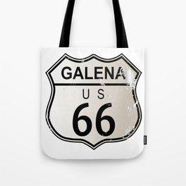 Galena Route 66 Tote Bag