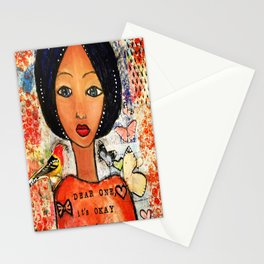 Be Bold Angel Stationery Cards