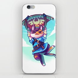 Cosplay Kittens - Kitten of The Wild iPhone Skin