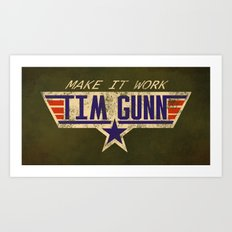 Make It Work! Art Print