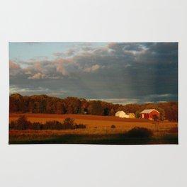 Wisconsin Farmscape Rug