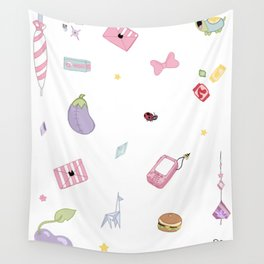 Space Temp Accessories Wall Tapestry