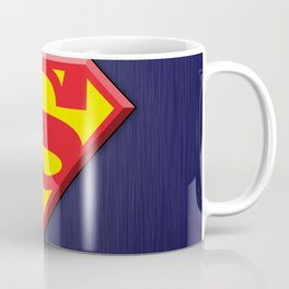 Super Hero Super Man Coffee Mug
