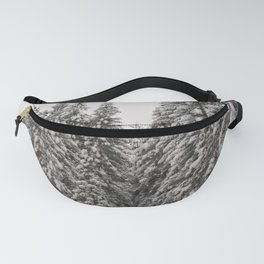 Winter Road - Carol Highsmith Fanny Pack