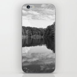 Clouds On The Lake iPhone Skin