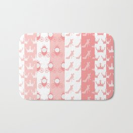 Modelos Toppers Princesa Handcrafted Studio train king pink Bath Mat