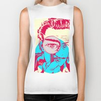dali Biker Tanks featuring Dali   by Vee Ladwa