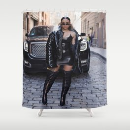 Kehlani 12 Shower Curtain