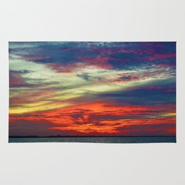 October Lake St.Clair Sunset Rug