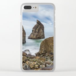 Sliding Away Clear iPhone Case
