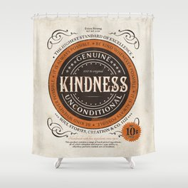 Kindness Shower Curtain