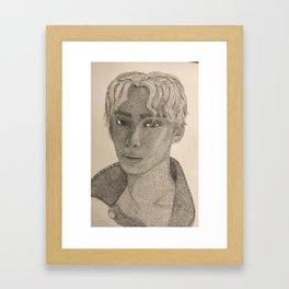 A.C.E. Jun Framed Art Print