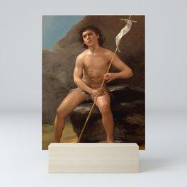 """Francisco Goya """"Saint John the Baptist in the Desert"""" Mini Art Print"""