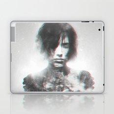The shadow of a sad girl Laptop & iPad Skin