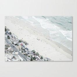 Surfers Paradise: Birds Eye View I Canvas Print