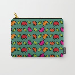 folk  flower collection Carry-All Pouch