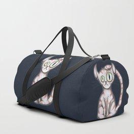 Scary cat Duffle Bag