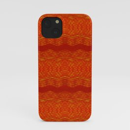 September Curves (Hot Lava) iPhone Case