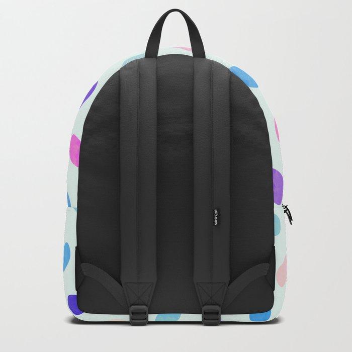 Colorful Cute Hearts II Backpack