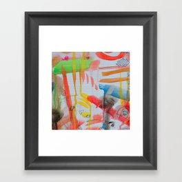 Spontaneous moods Framed Art Print