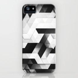 scope (monochrome series) iPhone Case