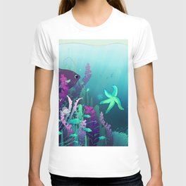 Deep down in the water T-shirt