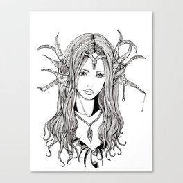 Elf Princess Canvas Print