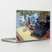 old school Laptop & iPad Skins featuring Old School by ClaM