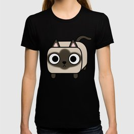 Cat Loaf - Siamese Kitty with Crossed Eyes T-shirt